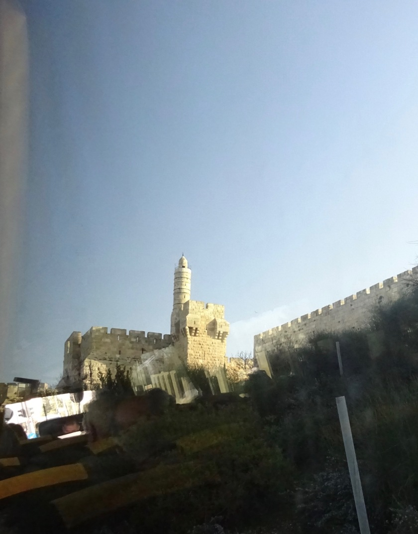 Tower of David and old city walls
