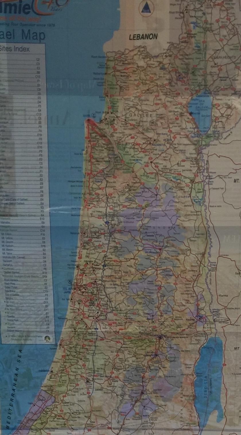 Isreali map