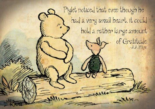 Thanksgiving Pooh & Piglet