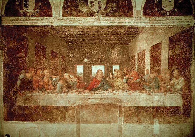 The-Last-Supper-Leonardo-da-Vinci-Santa